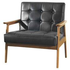 Hunter Arm Chair in Black
