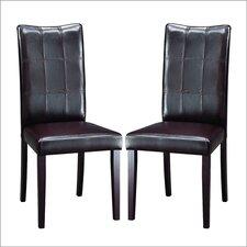 Baxton Studio Eugene Parsons Chair (Set of 2)