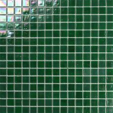 Atlantis Glass Mosaic Tile in Emerald Green