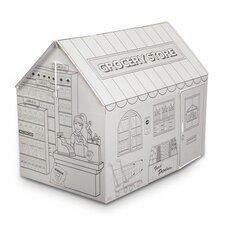 Grocery Playhouse with Washable Markers