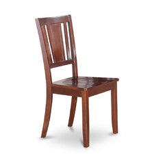 Dudley Side Chair with Wood Seat (Set of 2)