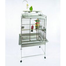 Medium Play Top Bird Cage with Bird Toy Hook