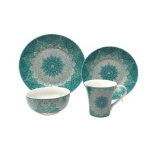Kashan 16 Piece Dinnerware Set