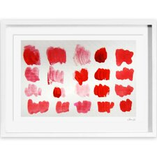 Artana That Shade of Red Framed Painting Print