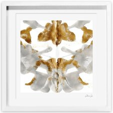 Artana Serenity in Silver Framed Painting Print