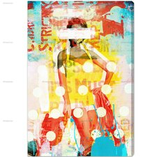 Oliver Gal Beach Beauty Vertical Graphic Art on Wrapped Canvas
