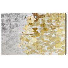 Gold & Platinum Painting Print on Canvas