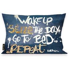 Oliver Gal Home Seize it Denim Lumbar Pillow