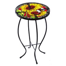 Vibrant End Table
