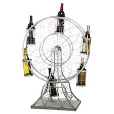 Ferris Wheel Wine Rack