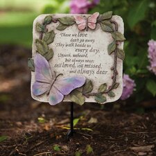 Those We Love Garden Plaque