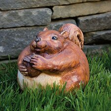 Portly Squirrel Statue