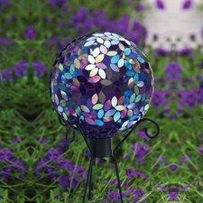 Irridescent Mosaic Gazing Globe