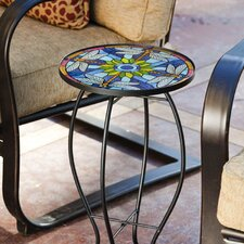 Tiffany-Inspired Dragonfly Side Table