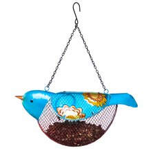 Dots and Blossoms Inspirational Bird Feeder