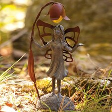 Solar Fairy Inquisitive Statue