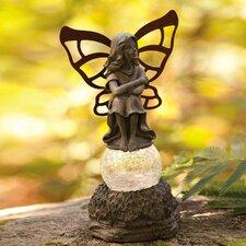 Solar Fairy Ponderer Statue
