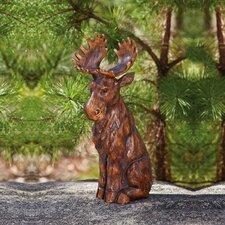 Woodland Creatures Moose Statue