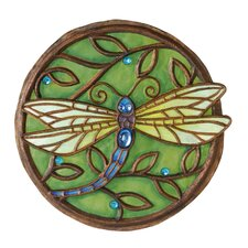 Jeweled Garden Dragonfly Stepping Stone
