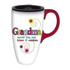 Grandma Kisses Latte Travel Cup