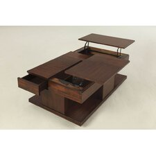 Le Mans Coffee Table with Double Lift-Top