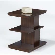Waterfall Chairside Table