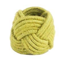 Braided Jute Napkin Ring
