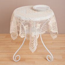 """Tuscany"" Lace Table Topper"