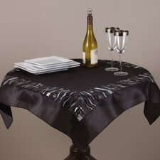 Embroidered and Sequined Table Topper
