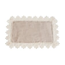 Lace Trimmed Tray Cloth (Set of 12)