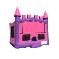 Commercial Grade Princess Brick Inflatable Bounce House