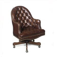 Cleveland Leather Conference Chair