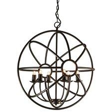 Illana 6 Light Globe Pendant