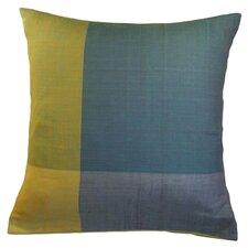 Stormy Cotton Throw Pillow