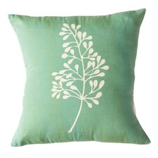 Botanical Cotton Throw Pillow