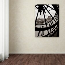 """Big Clock"" by Chris Bliss Photographic Print on Wrapped Canvas"