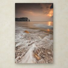 """Etretat"" by Mathieu Rivrin Photographic Print on Wrapped Canvas"