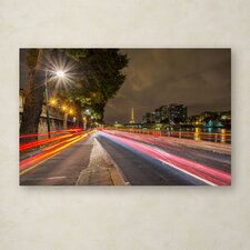 """""""Here Is Paris"""" by Mathieu Rivrin Photographic Print on Wrapped Canvas"""