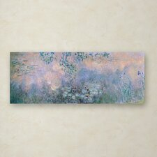 'Water Lilies 1914-22' by Claude Monet Painting Print on Wrapped Canvas