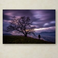 """""""The Tree of Love Grenoble"""" by Mathieu Rivrin Photographic Print on Wrapped Canvas"""