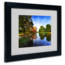 'Autumnal Beauty' by Philippe Sainte-Laudy Matted Framed Photographic Print