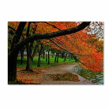 """Tidal Basin Autumn 2"" by CATeyes Photographic Print Gallery Wrapped on Canvas"