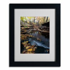 'Autumn Stream' by Kurt Shaffer Framed Photographic Print