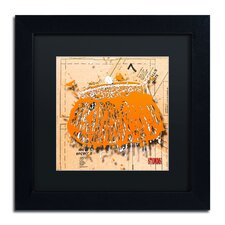 'Snap Purse Orange' by Roderick Stevens Framed Photographic Print