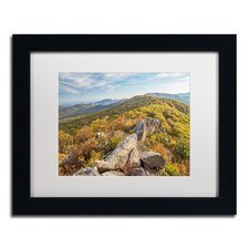 'Autumn Ridge' by Pierre Leclerc Framed Photographic Print