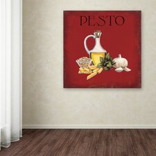 """Italian Cuisine II"" by Marco Fabiano Painting Print on Wrapped Canvas"
