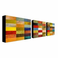 Eye Candy by Michelle Calkins 3 Piece Canvas Art Set