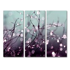 """""""Somewhere Over the Rainbow"""" by Beata Czyzowska Young 3 Piece Photographic Print Set"""