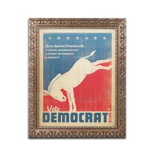 """""""Donkey"""" by Anderson Design Group Framed Graphic Art"""