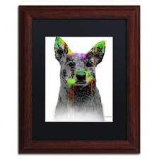 Cattle Dog by Marlene Watson Framed Painting Print